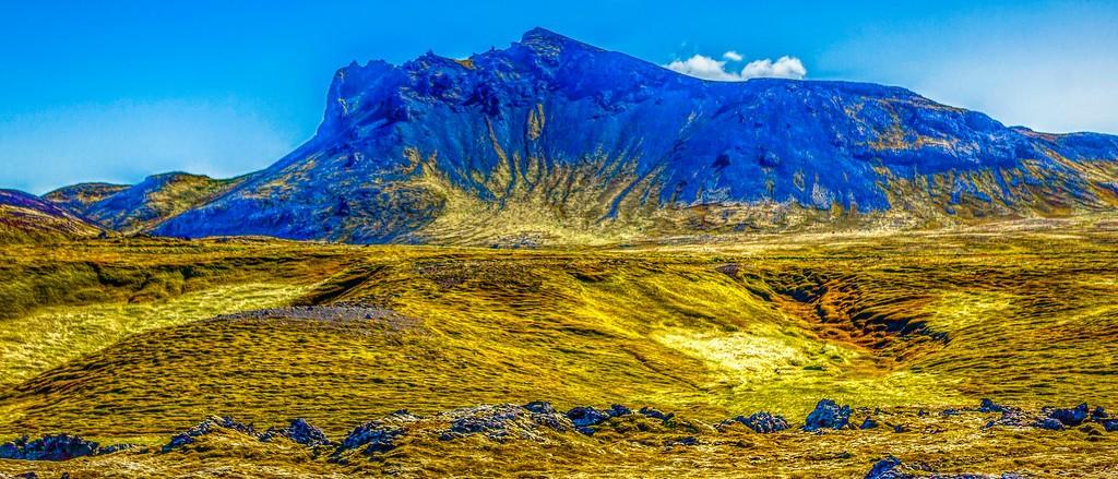 冰岛风采,天然油画_图1-35