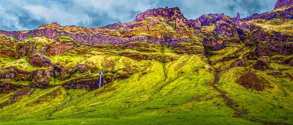 冰岛风采,天然油画_图1-33