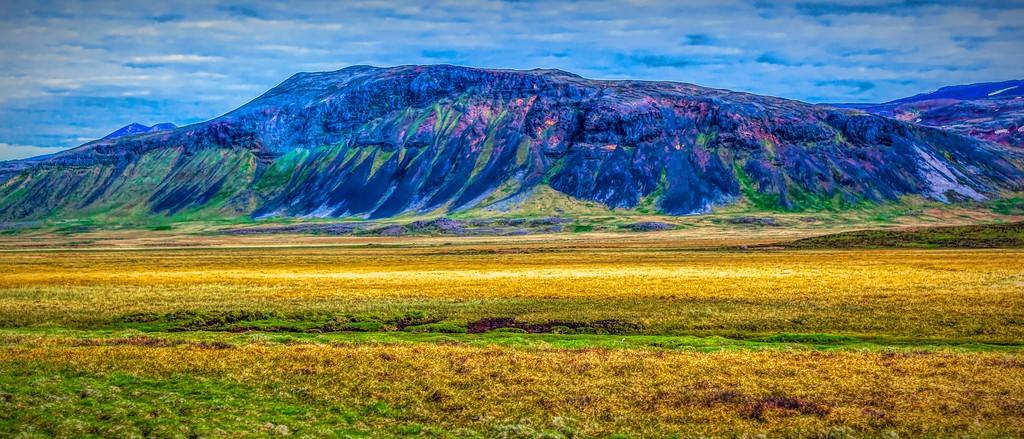 冰岛风采,天然油画_图1-37