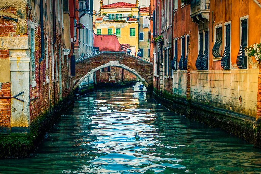 意大利威尼斯,城市小桥_图1-22