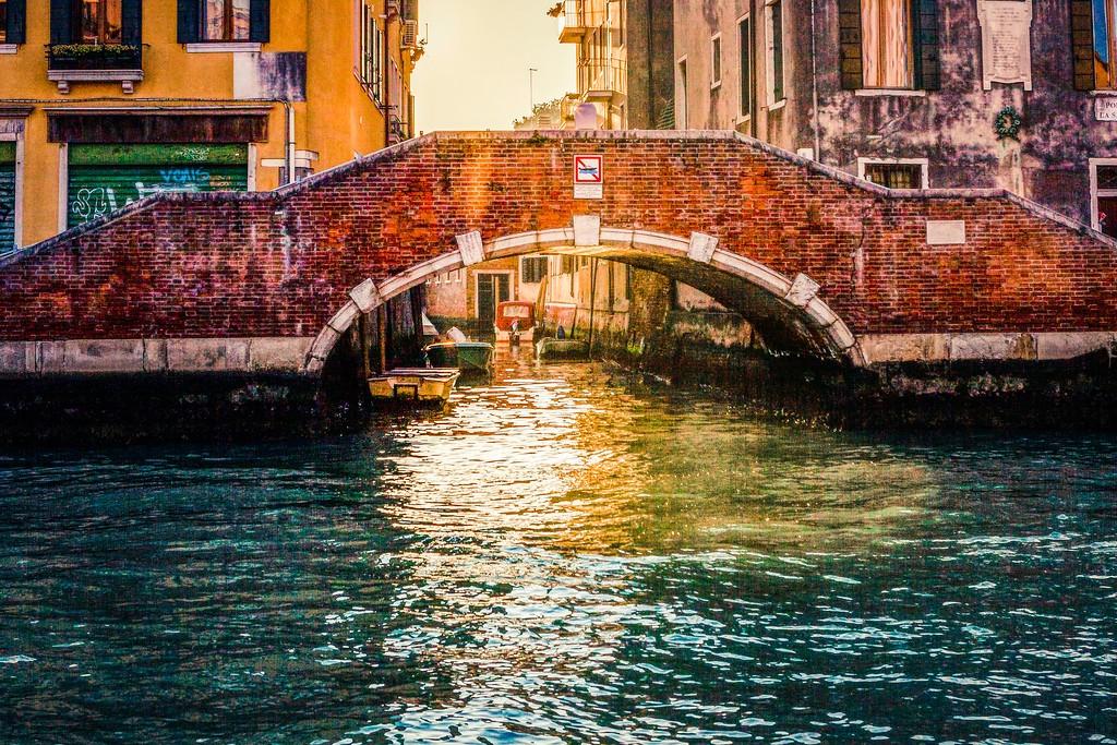 意大利威尼斯,城市小桥_图1-24