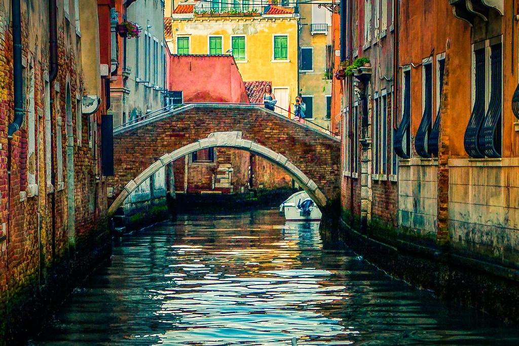 意大利威尼斯,城市小桥_图1-19