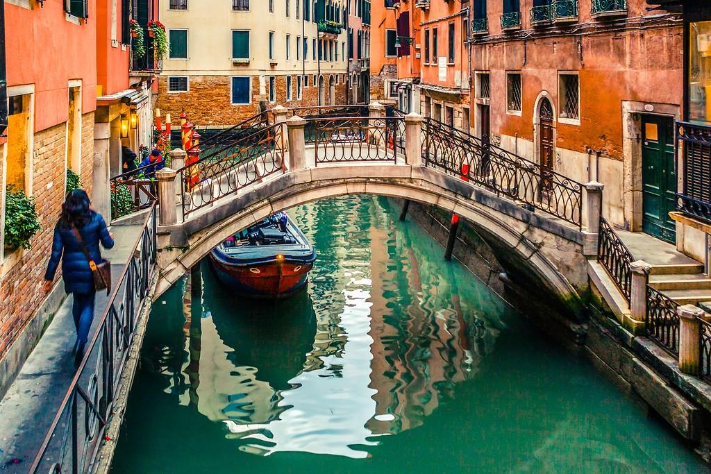 意大利威尼斯,城市小桥_图1-13
