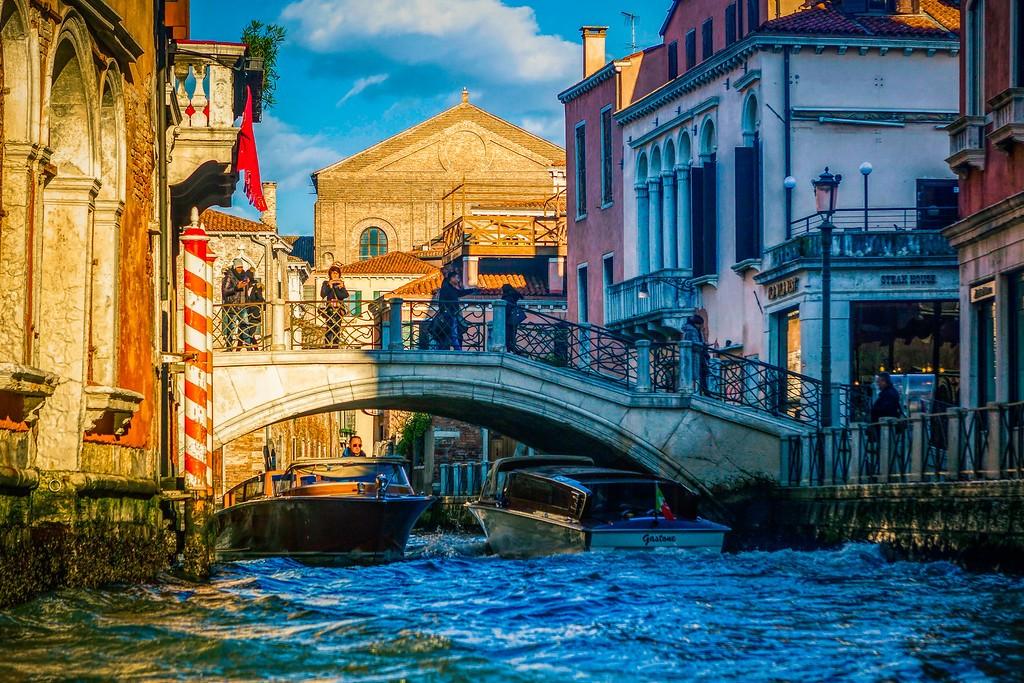 意大利威尼斯,城市小桥_图1-16