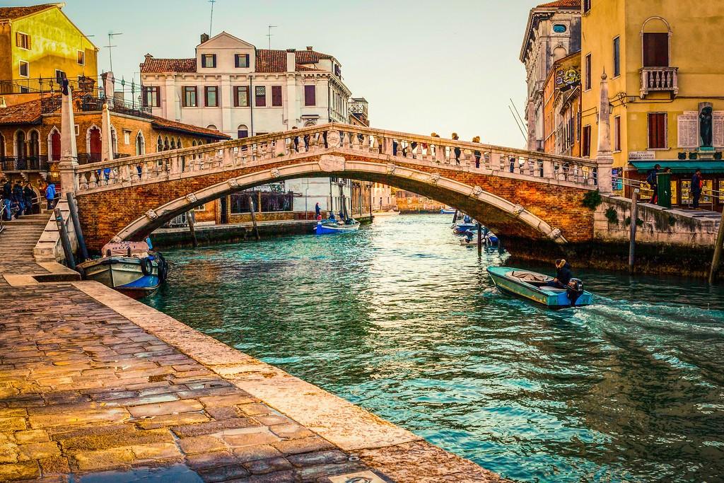 意大利威尼斯,城市小桥_图1-9