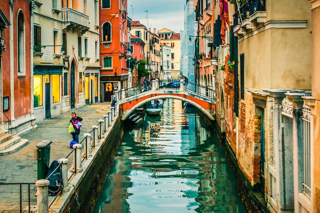 意大利威尼斯,城市小桥_图1-3