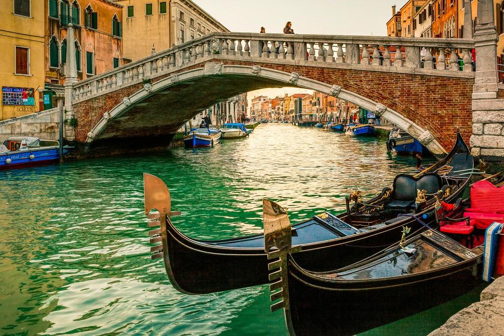 意大利威尼斯,城市小桥_图1-11