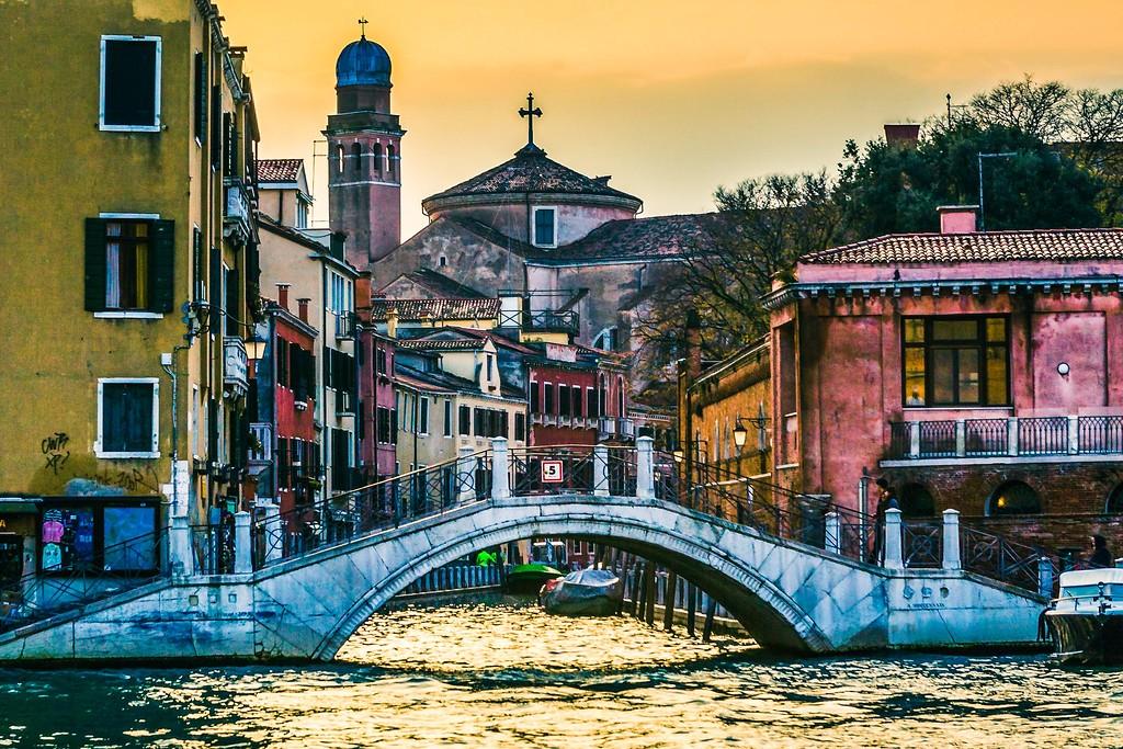 意大利威尼斯,城市小桥_图1-5
