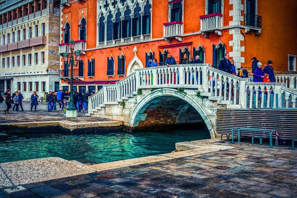 意大利威尼斯,城市小桥_图1-2