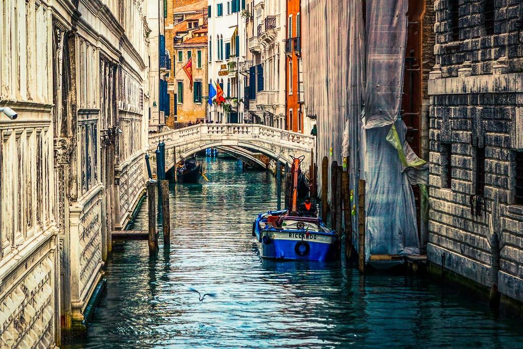 意大利威尼斯,城市小桥_图1-8