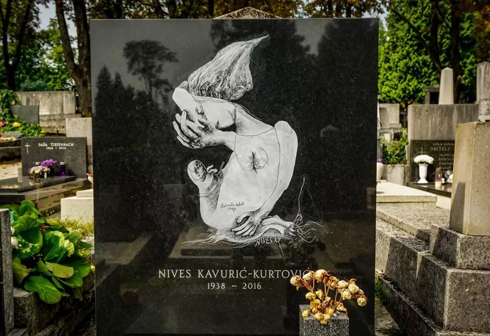 在萨格勒布参观米罗戈日公墓_图1-12