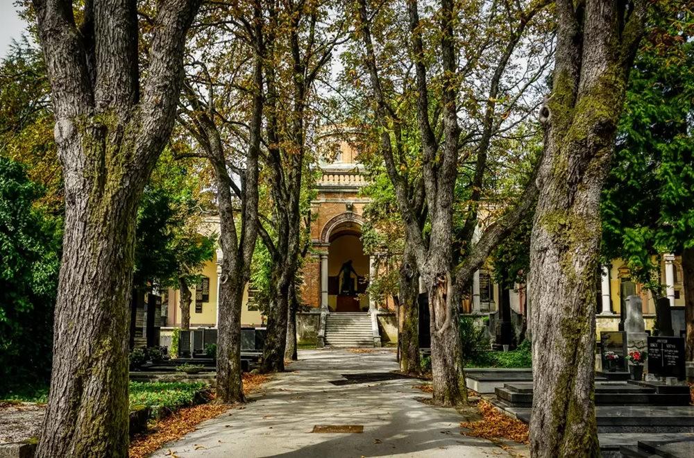 在萨格勒布参观米罗戈日公墓_图1-14