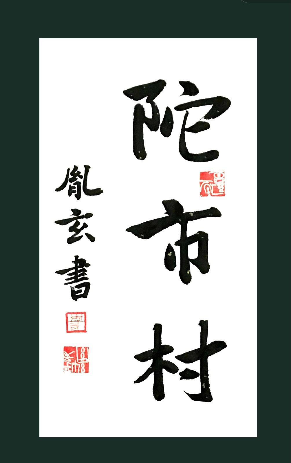 """纽约闽籍书法家為""""乡村题寫书法""""活动_图1-32"""