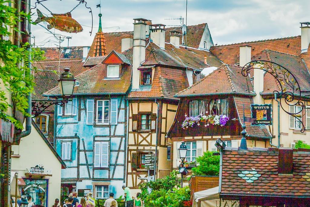 法国科尔马(Colmar),小城漫游_图1-5