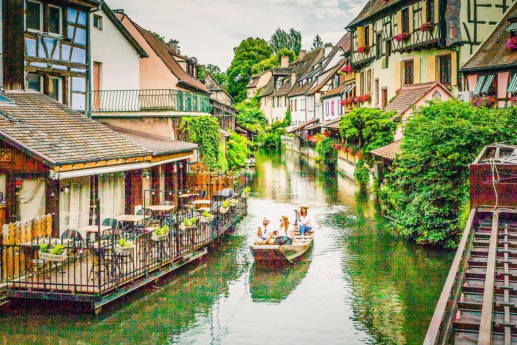 法国科尔马(Colmar),小城漫游_图1-2