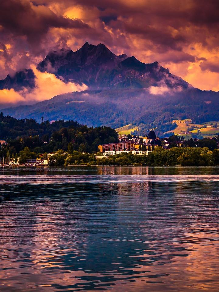 瑞士卢塞恩(Lucerne),变化莫测_图1-27