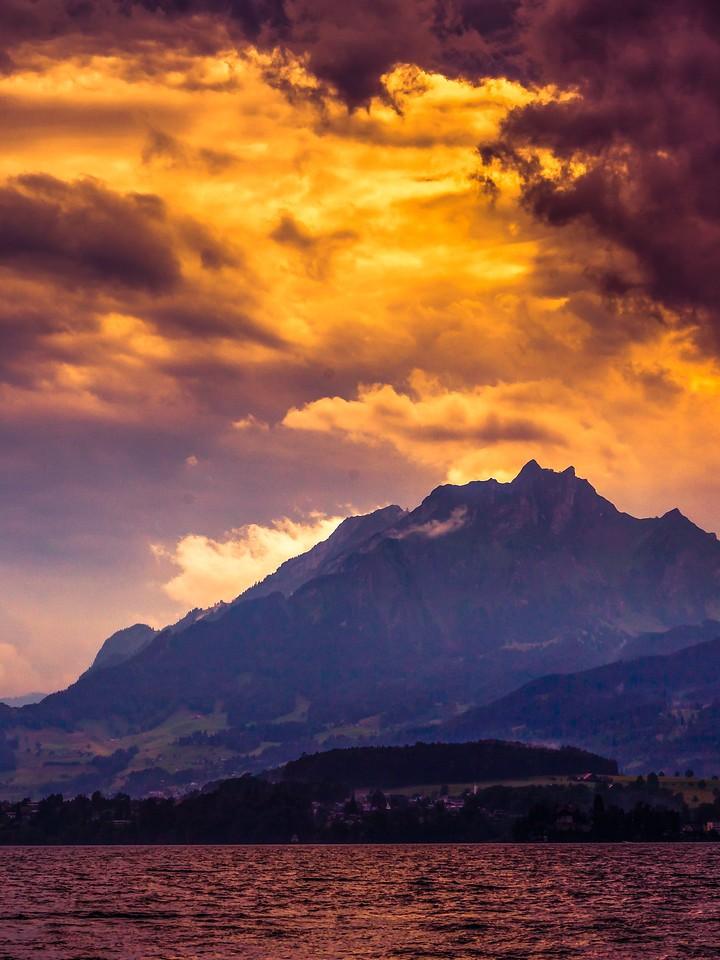瑞士卢塞恩(Lucerne),变化莫测_图1-21