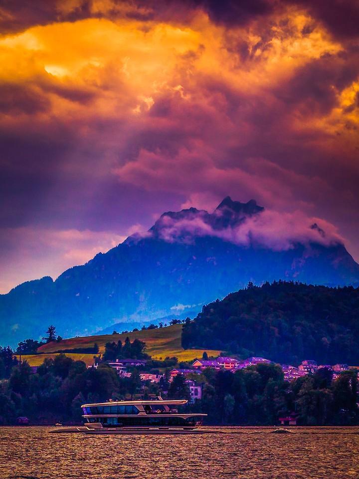 瑞士卢塞恩(Lucerne),变化莫测_图1-6