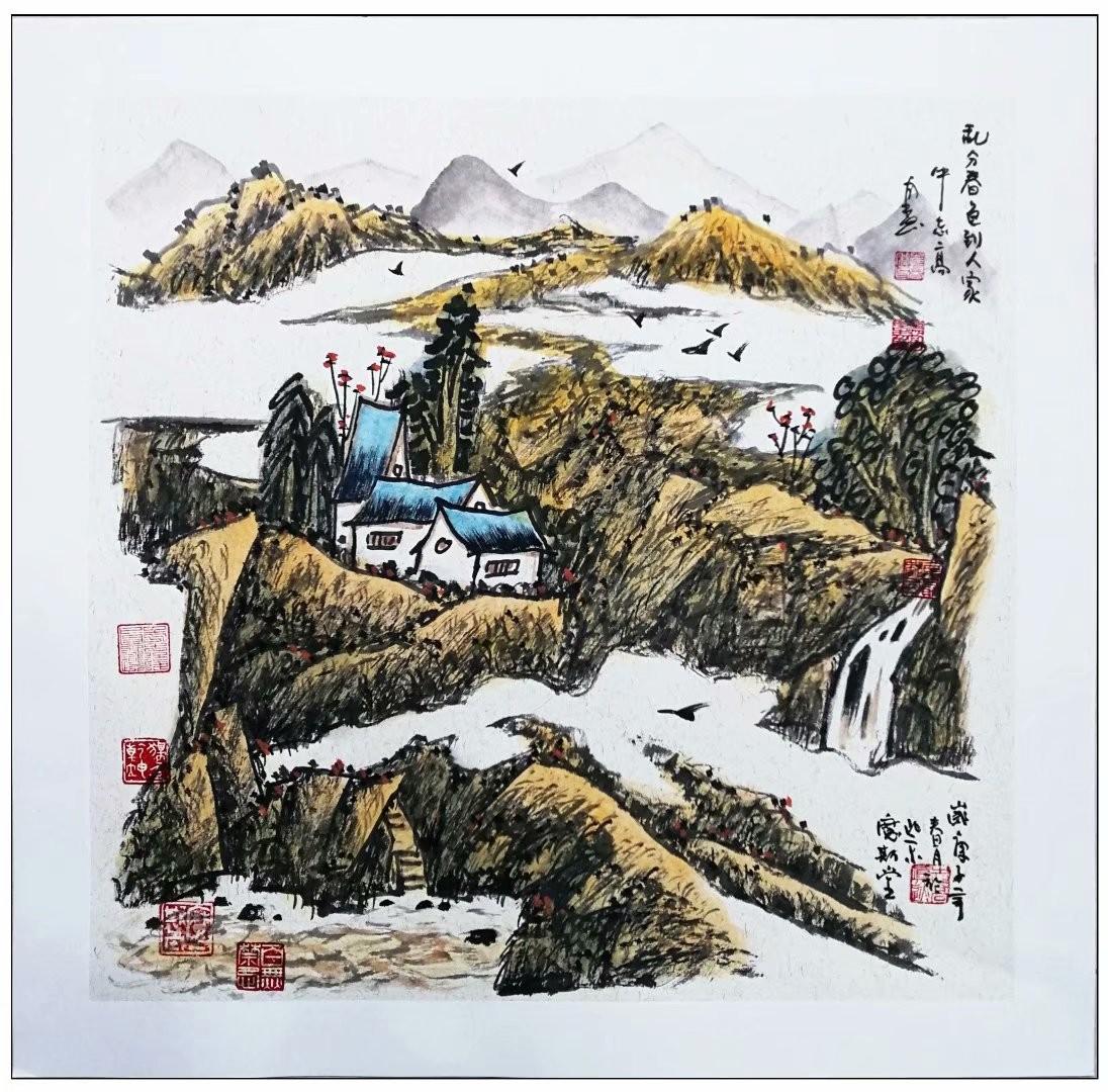 牛志高山水画精品100付集粹---2021.01.05_图1-68