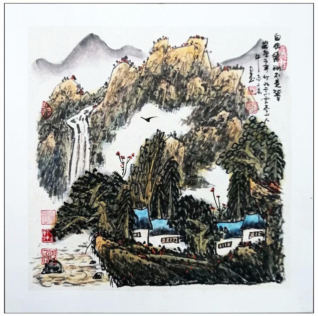 牛志高山水画精品100付集粹---2021.01.05_图1-72