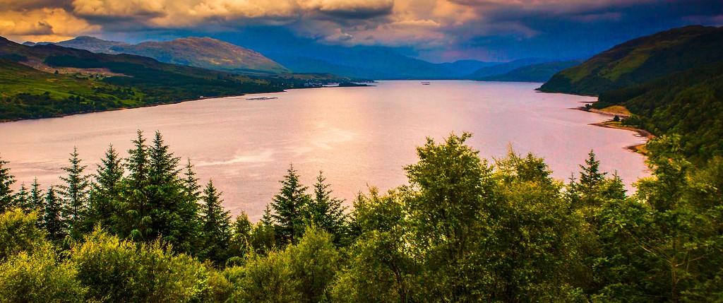 苏格兰美景,山水画卷_图1-40
