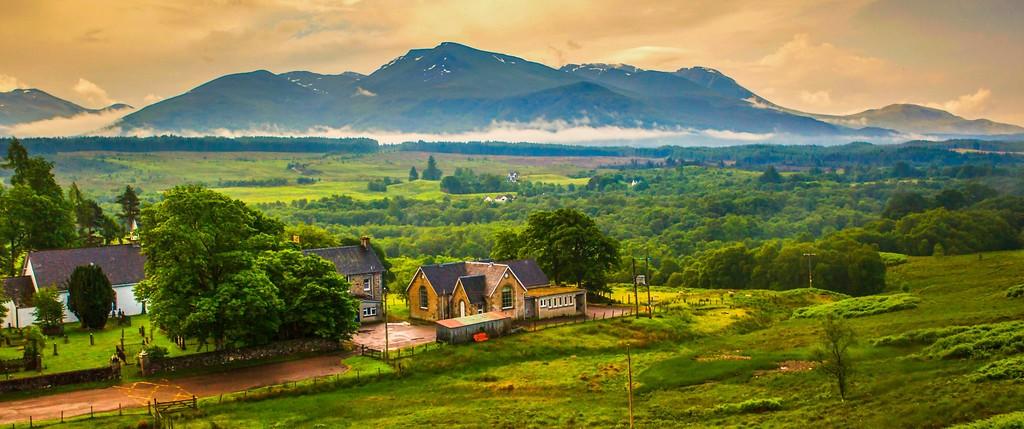 苏格兰美景,山水画卷_图1-26