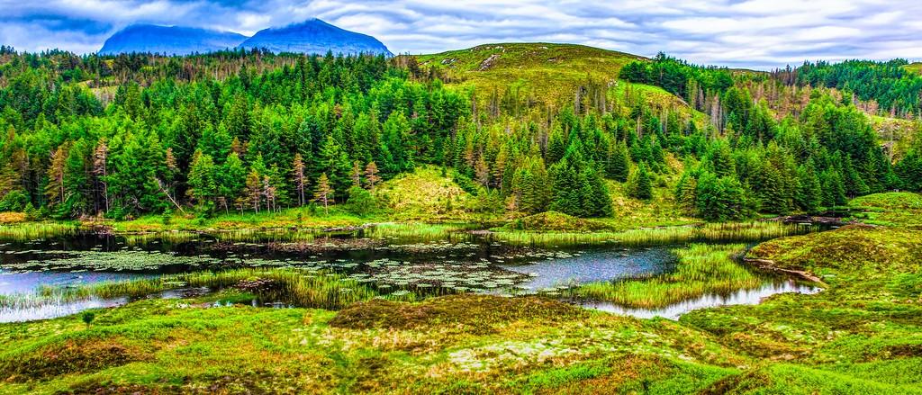 苏格兰美景,山水画卷_图1-5