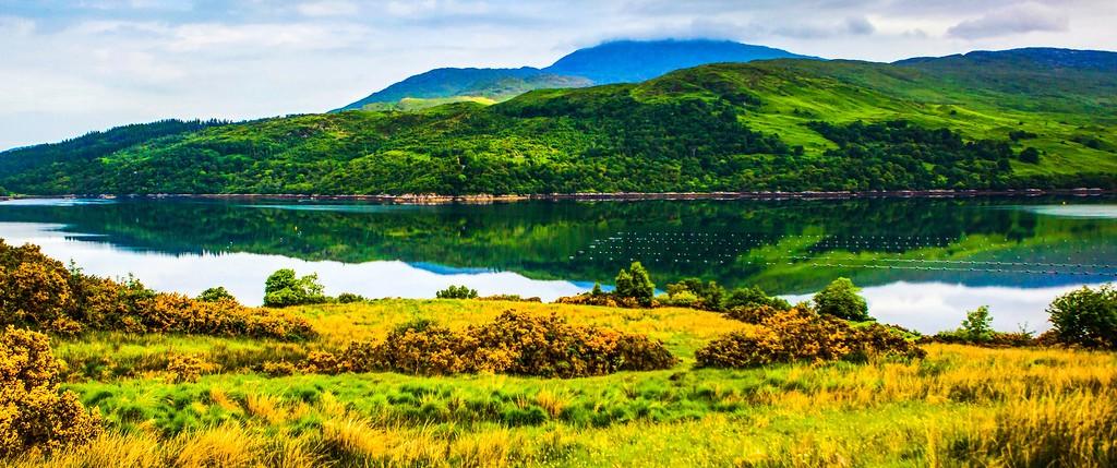 苏格兰美景,山水画卷_图1-23