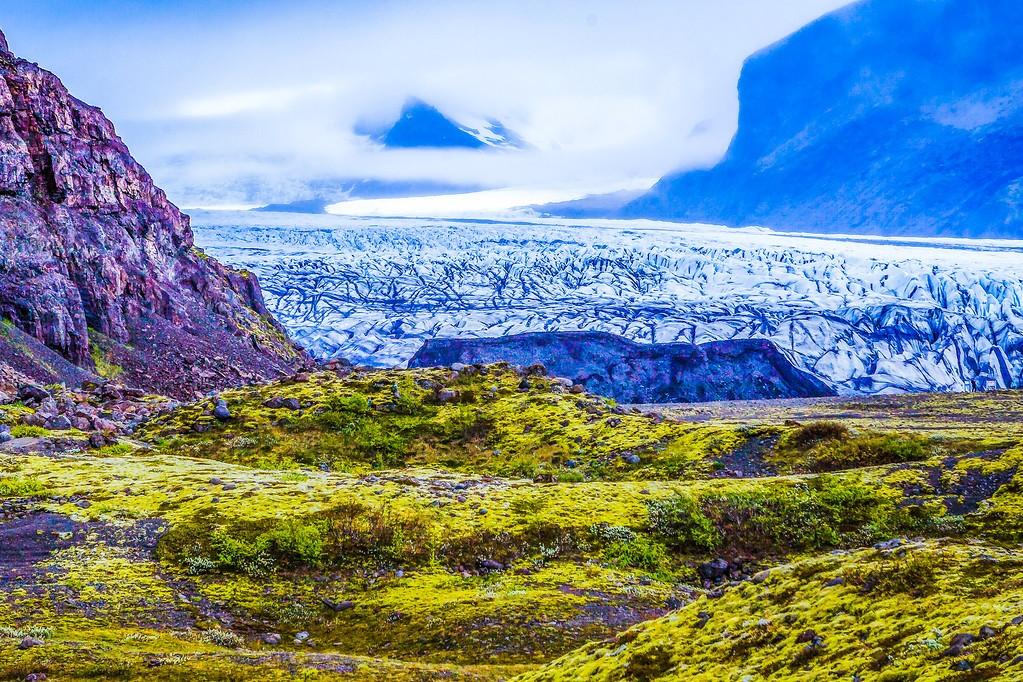 冰岛瓦特纳冰川(Vatna Glacier),走进它_图1-33
