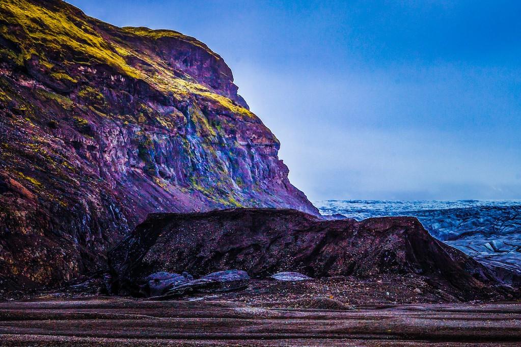冰岛瓦特纳冰川(Vatna Glacier),走进它_图1-28