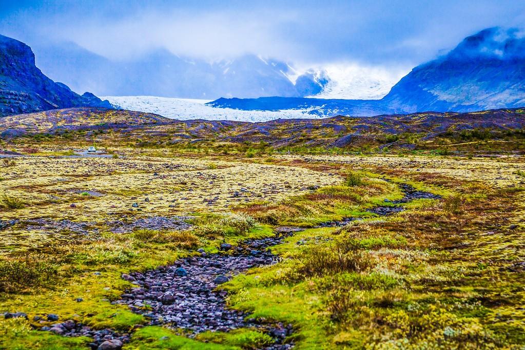 冰岛瓦特纳冰川(Vatna Glacier),走进它_图1-29