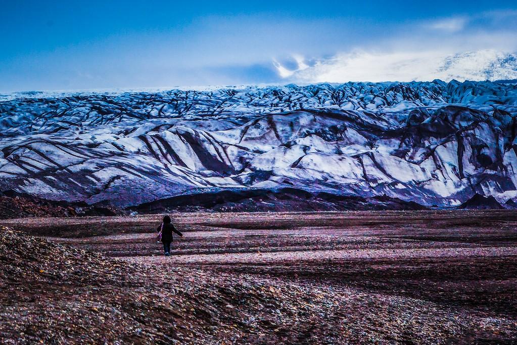 冰岛瓦特纳冰川(Vatna Glacier),走进它_图1-24