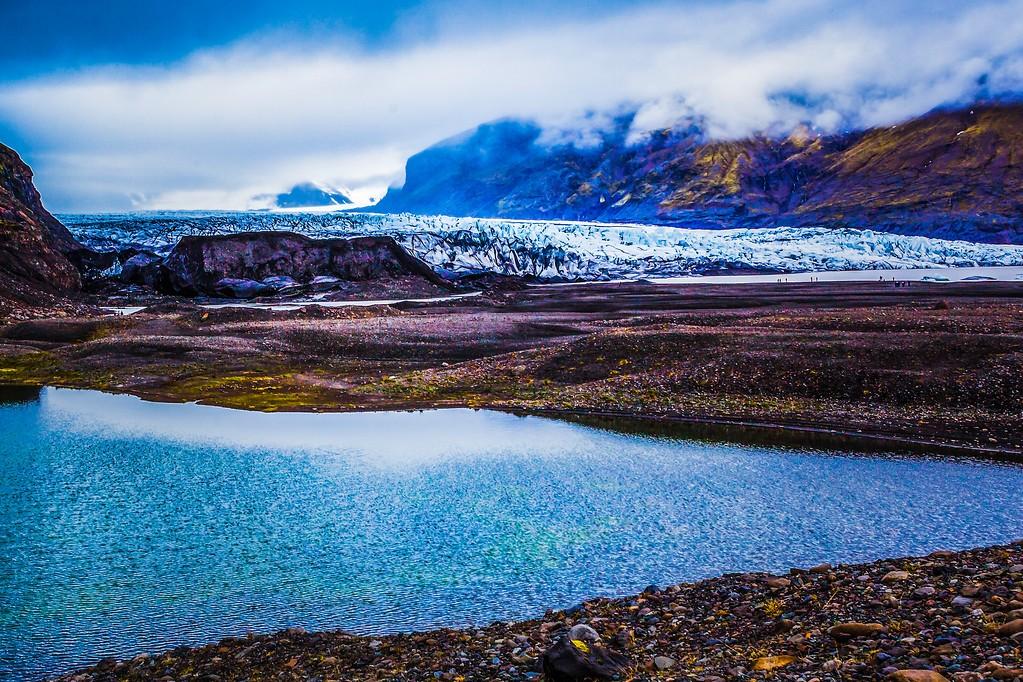 冰岛瓦特纳冰川(Vatna Glacier),走进它_图1-22