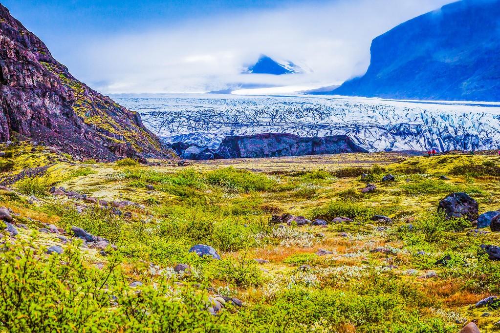 冰岛瓦特纳冰川(Vatna Glacier),走进它_图1-23