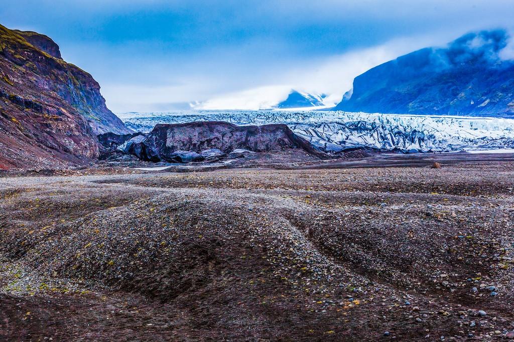 冰岛瓦特纳冰川(Vatna Glacier),走进它_图1-18