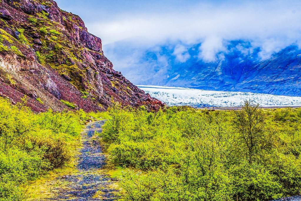 冰岛瓦特纳冰川(Vatna Glacier),走进它_图1-17
