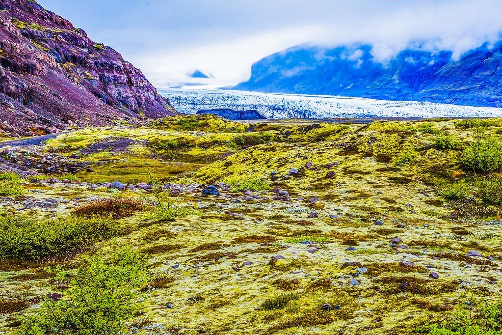 冰岛瓦特纳冰川(Vatna Glacier),走进它_图1-16