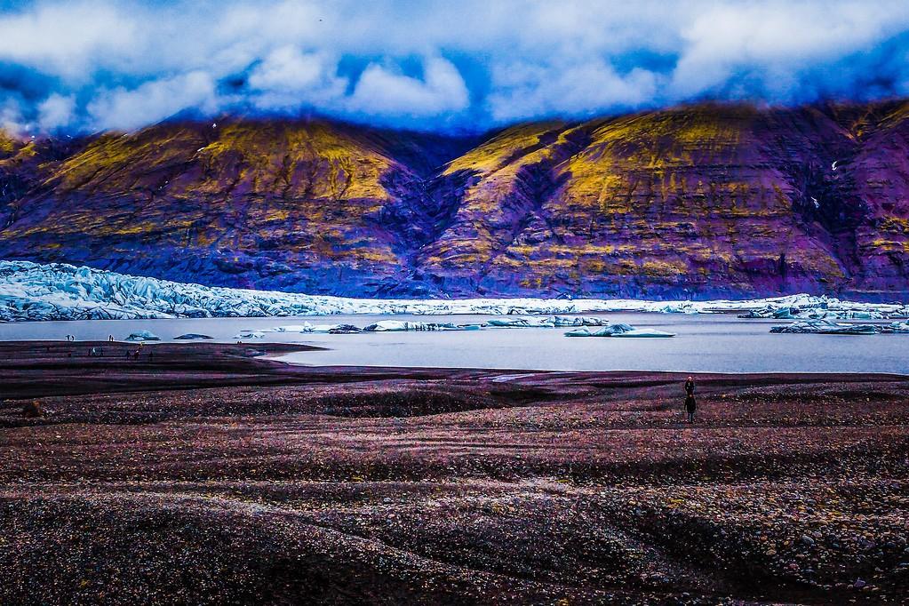 冰岛瓦特纳冰川(Vatna Glacier),走进它_图1-13