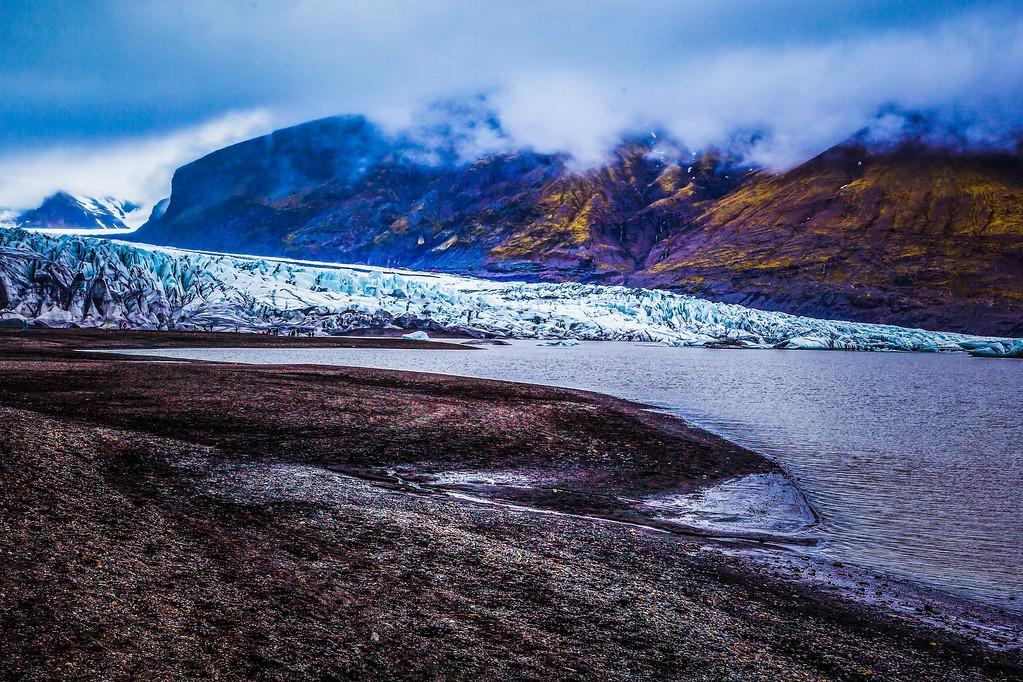 冰岛瓦特纳冰川(Vatna Glacier),走进它_图1-15