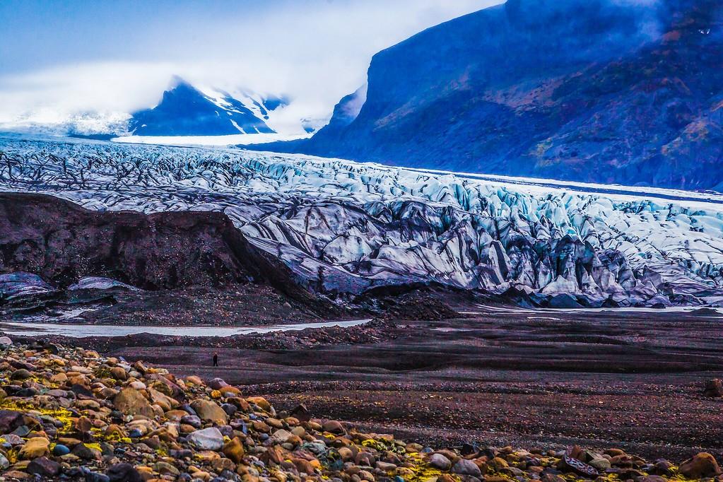 冰岛瓦特纳冰川(Vatna Glacier),走进它_图1-9
