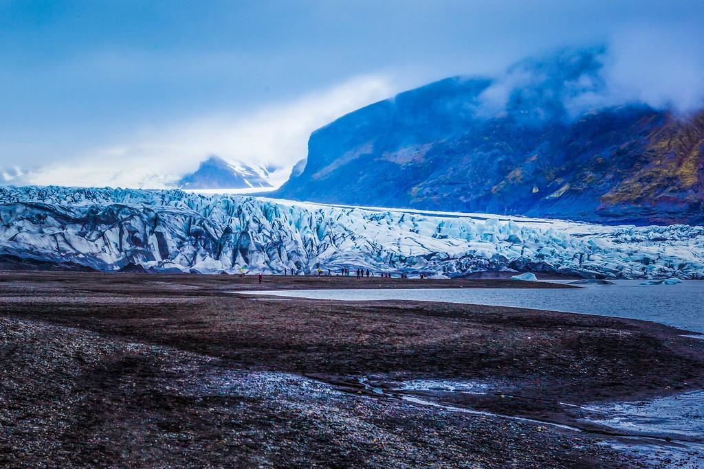 冰岛瓦特纳冰川(Vatna Glacier),走进它_图1-7