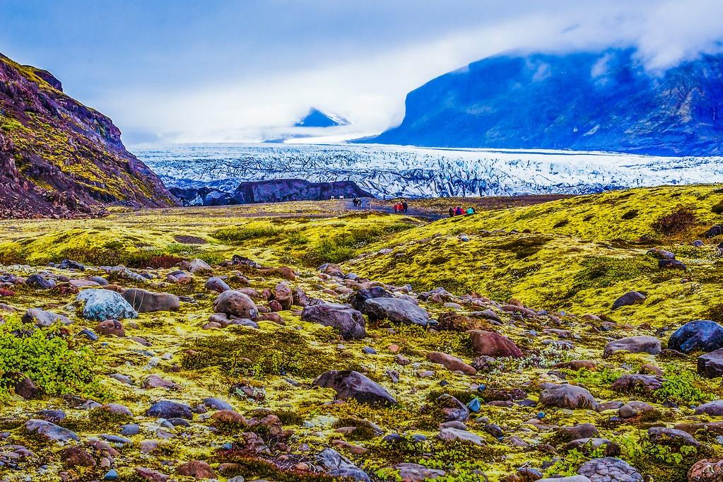 冰岛瓦特纳冰川(Vatna Glacier),走进它_图1-10