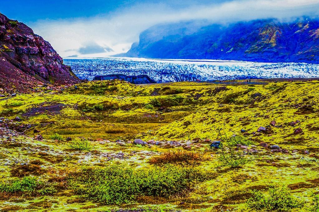 冰岛瓦特纳冰川(Vatna Glacier),走进它_图1-3