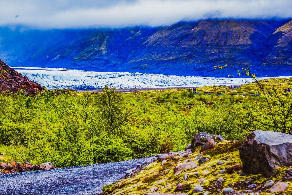 冰岛瓦特纳冰川(Vatna Glacier),走进它_图1-8