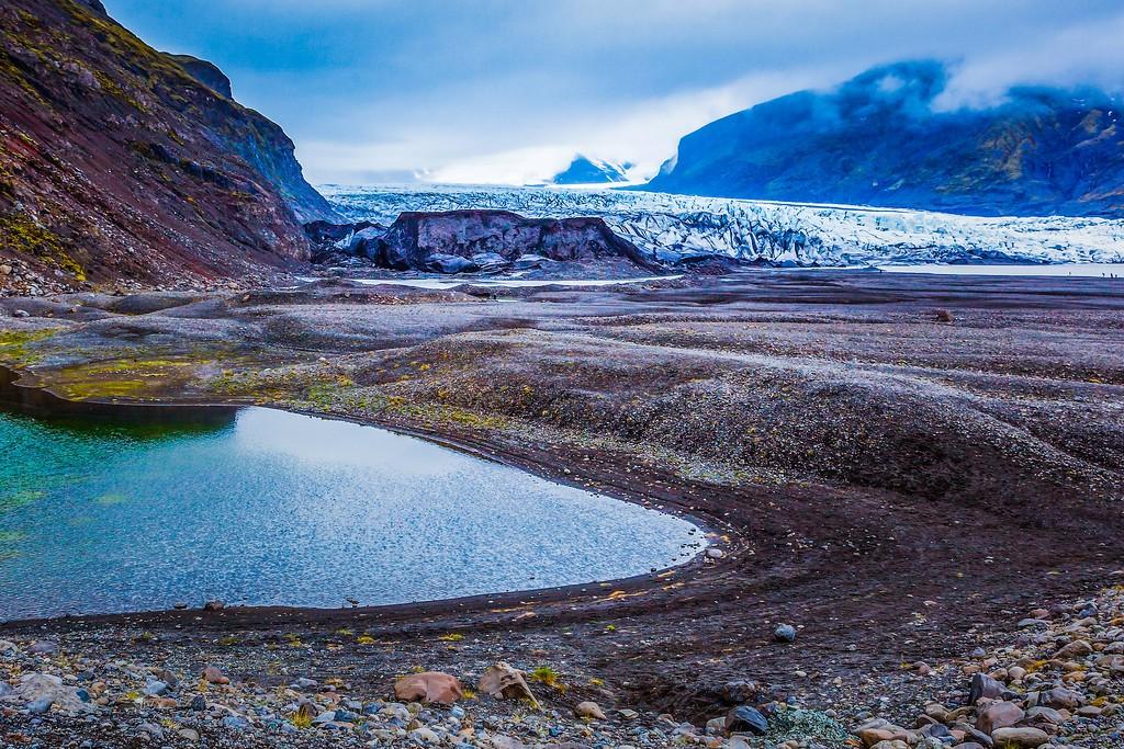 冰岛瓦特纳冰川(Vatna Glacier),走进它_图1-2