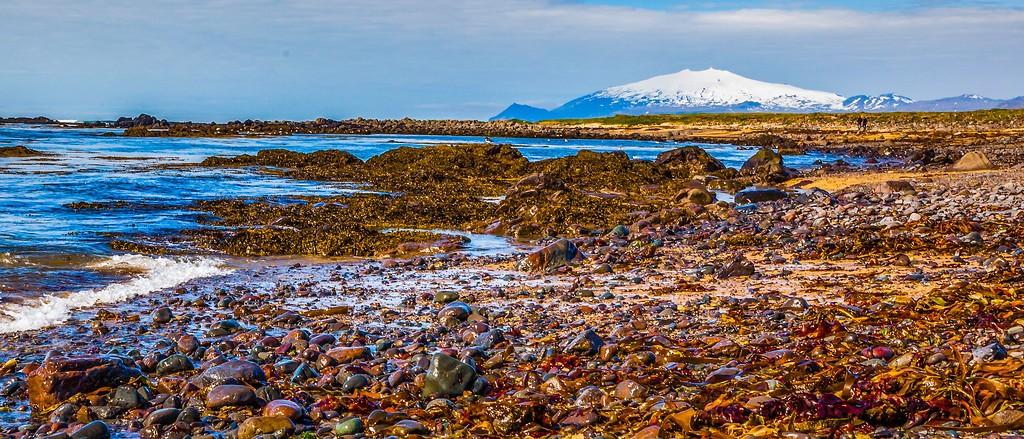 冰岛风采,远望雪山_图1-36