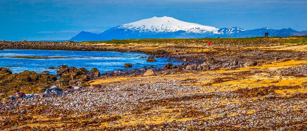 冰岛风采,远望雪山_图1-39