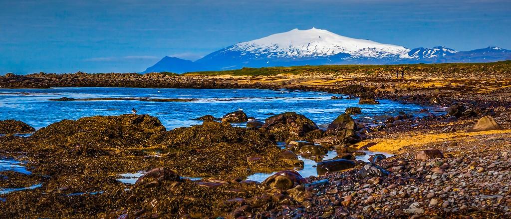 冰岛风采,远望雪山_图1-28
