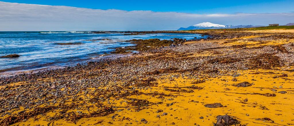 冰岛风采,远望雪山_图1-15