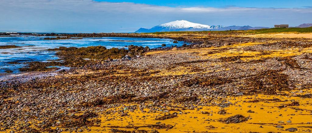 冰岛风采,远望雪山_图1-16